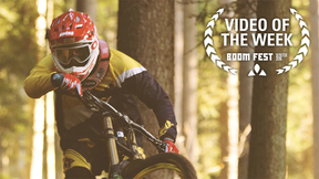 Biking From The Eagle's Nest | Freeski Pro Andi Valentin Rips Up Homemade MTB Trail