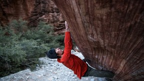 Ethan Pringle Sheds Blood And Sweat In Red Rocks Nevada Send