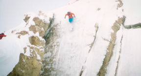 Jackson Hole - 3 Feet in 3 days - Owen Leeper Playing in the Depths