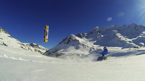 White Freedom | Snowkiting On A Bluebird Day In The French Alps