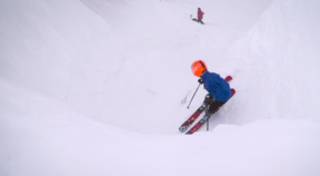 Jackson Hole - Corbet's Couloir – Father and Son
