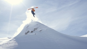 Body Language | Flo Bastien Effortlessly Skiing His Mountain Playground