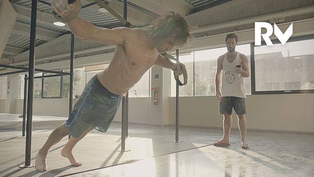 Training Stories: Chris Sharma Trains With Patxi Usobiaga For 'Le Blond'   Relais Vertical, Ep.46