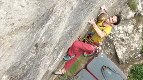 Tom Randall Makes First Ascent Of Final Round (8a+/b, HXS)