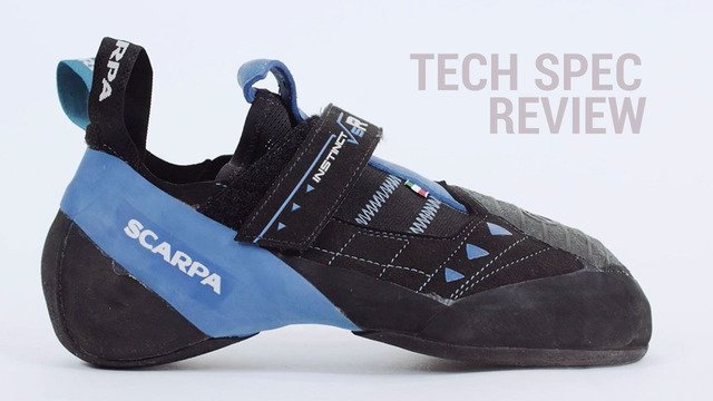 2508502206 EpicTV Video  Scarpa Instinct VSR Climbing Shoe