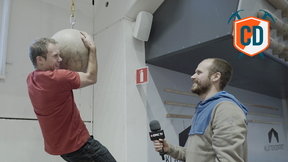 Matt Gets His Hands On A Big Ball: Klettercentret Akkala Gym Tour | Climbing Daily Ep.847