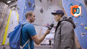 Alex Megos At The Klättercentret Telefonplan: Iconic Gyms | Climbing Daily Ep.863
