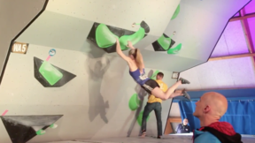 Shauna Coxsey Interview - Meiringen Boulder World Cup