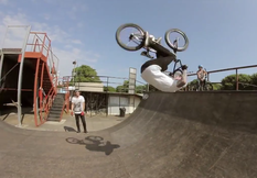 How To Fakie Front Flip with Pro BMXer Mark Webb | Back On It, Ep. 2