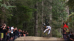 Thrills And Spills On 'A-Line' At Crankworx Air DH | Crankworx Whistler 2014