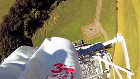 Stuntman Climbs 500ft to Handstand Off the Side of an Aerial Tower | Best Of EpicTV Daily Telegraph