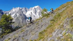 Weir And Hunter Ride Backcountry Mont Blanc Singletrack | Trail Ninja, Ep. 18