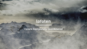 Norrona - lofoten : Colors Completely Coordinated