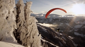 Acro-Paragliding in the Westendorf Valley