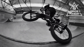 Ed Williams Shreds Creation Skatepark In Black And White | 10 Trick Tuesday, Ep. 15