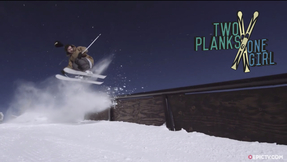 JF Houle Stomps Big Tricks And The Right Ski Boot Can Change Your Life | 2 Planks 1 Girl, Ep. 2