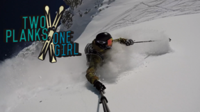 Pro Skier Tof Henry Straightlines Everything On Armada And WTF Is That Trick | 2 Planks 1 Girl, Ep.3