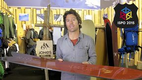 Jeremy Jones Shows Off His Funky New Powder Surfboard - ISPO 2015 | Epic TV Gear Geek