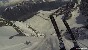 This Speedrider Skis An Avalanche Off A Cliff | Chamonix Airways, Ep. 4