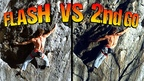 A Messed Up Flash + What I Learned From It! Rock Climbing Science