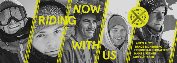 EpicTV Shop Snowboard Team